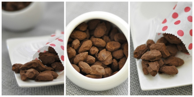 Spicy Chocolate Almonds