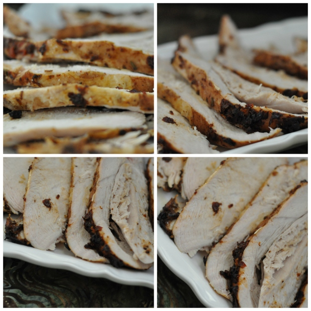 Sun-Dried Tomato Marinated Turkey Breast