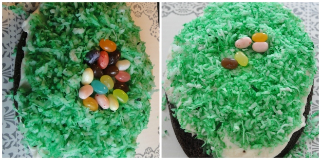 Egg Cake Collage
