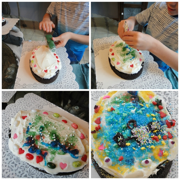 Jack Cake Decorating Collage