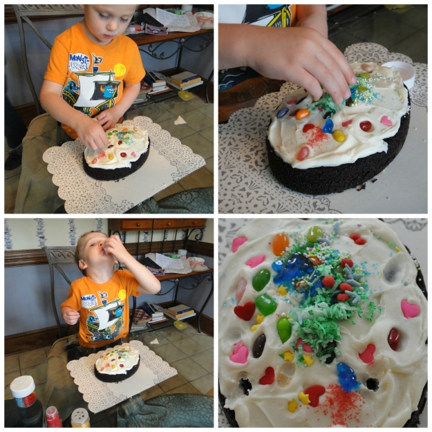 Sean Cake Decorating Collage