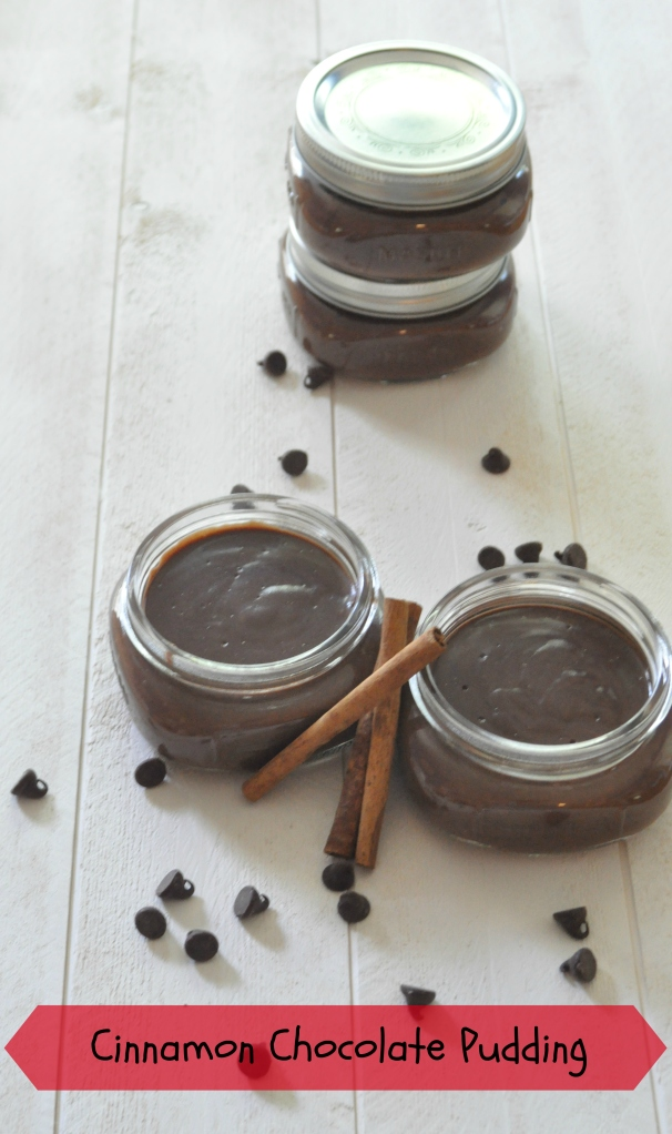Cinnamon Chocolate Pudding