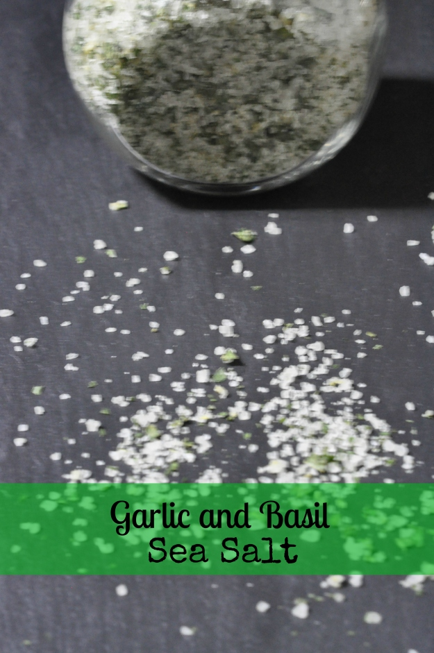 Garlic Basil Sea Salt