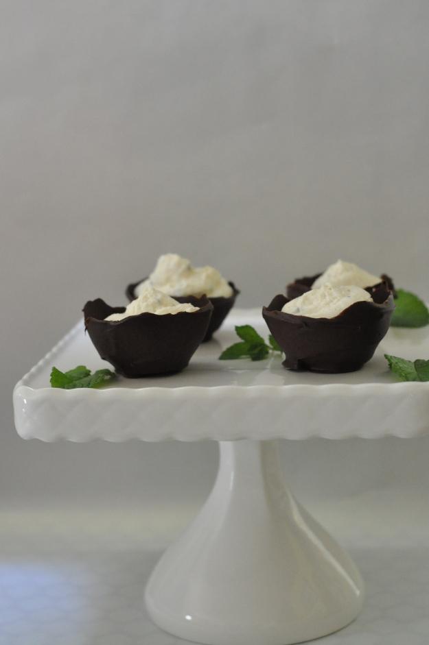 Mint Bavarian Cream