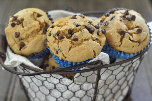 Peanut Butter Chocolate Chip Muffins