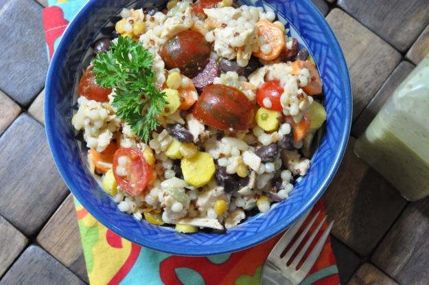 Couscous Salad with Lime Vinaigrette