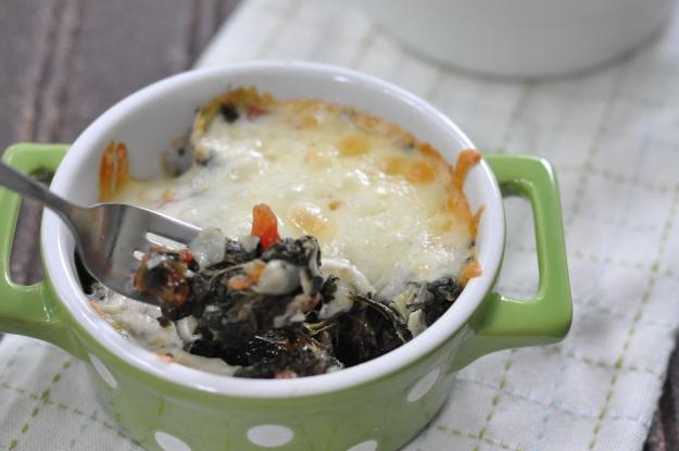 Spicy Spinach Artichoke Casserole