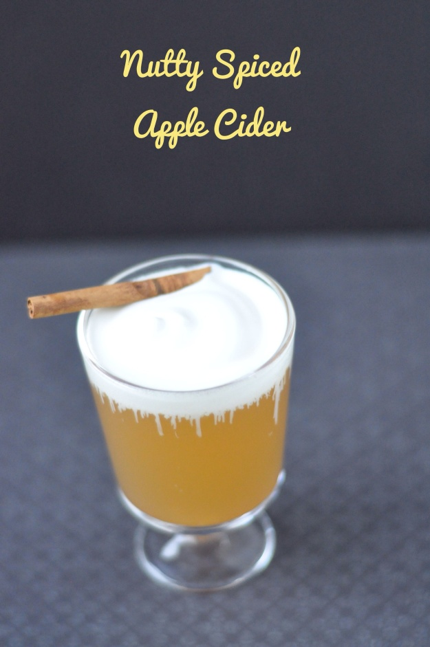 Nutty Spiced Apple a Cider