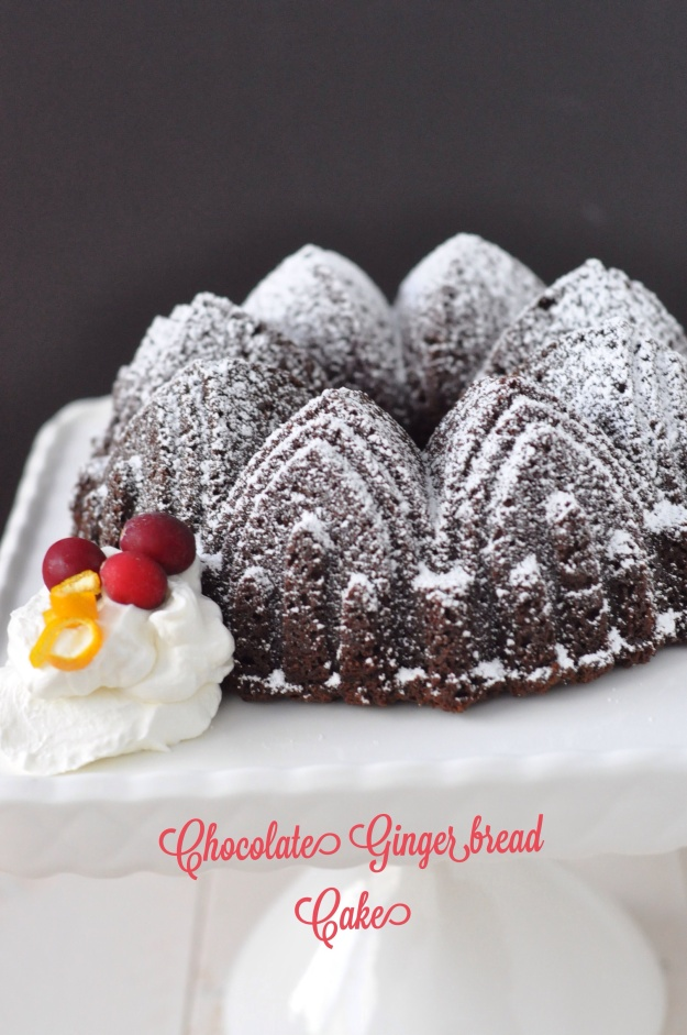 Chocolate Gingerbread Cake