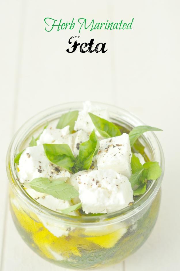 Herb Marinated Feta