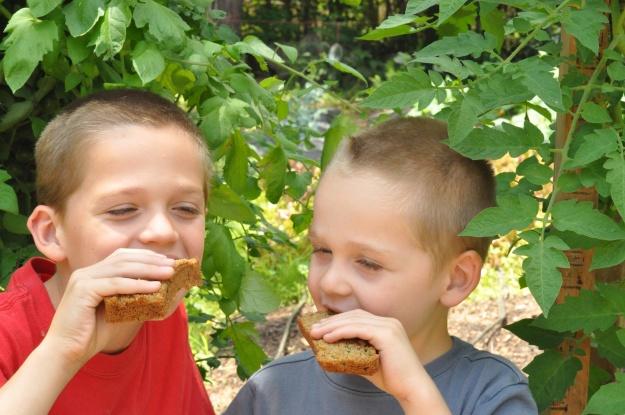 Zucchini bread boys