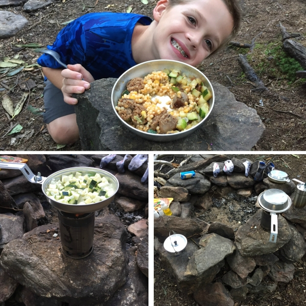 Camp Food Collage