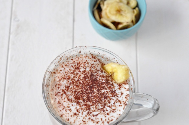 Banana Cinnamon Hot Chocolate