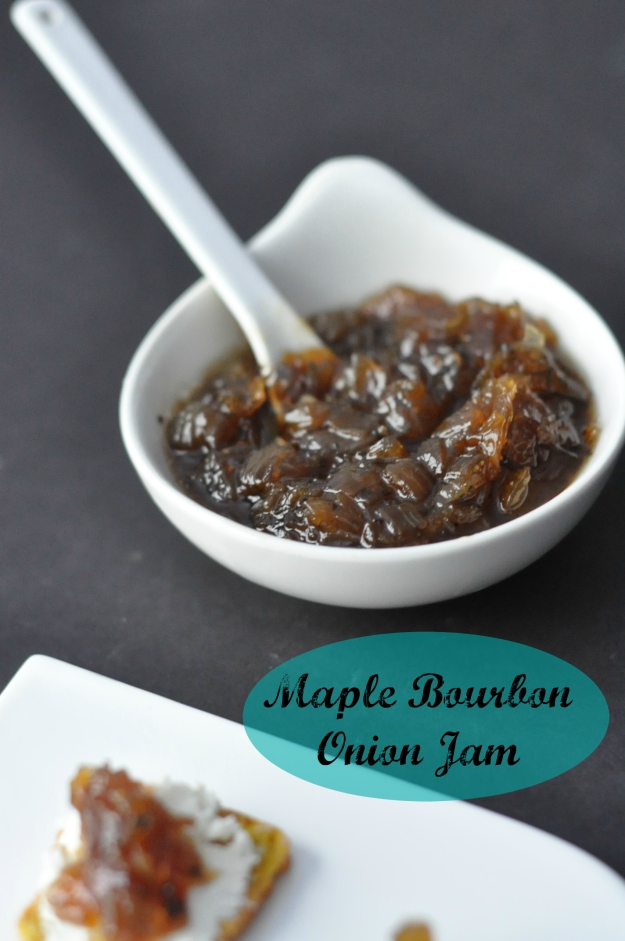 Maple Bourbon Onion Jam