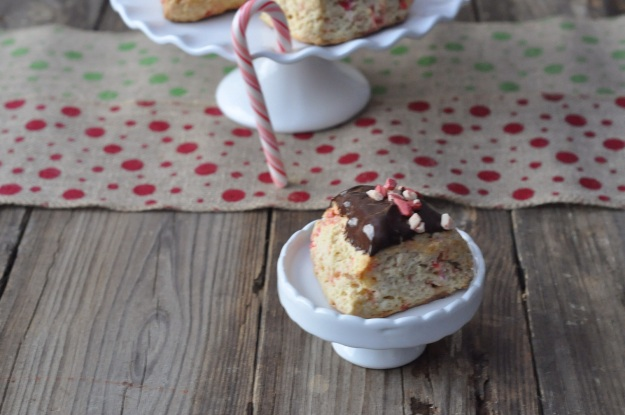 Candy Cane Scones
