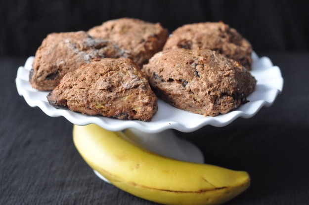 Banana Chocolate Chunk Scones