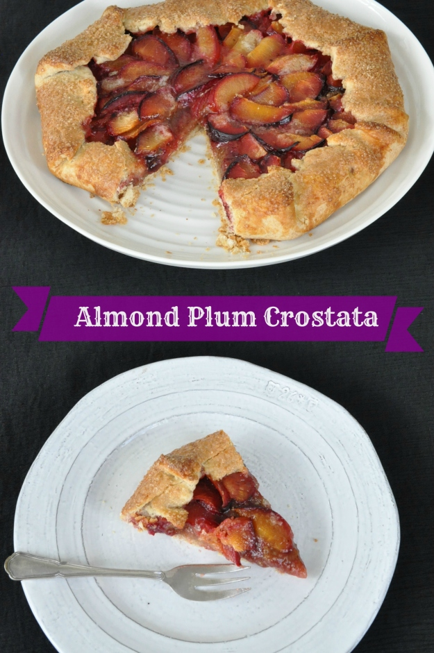 Almond Plum Crostata