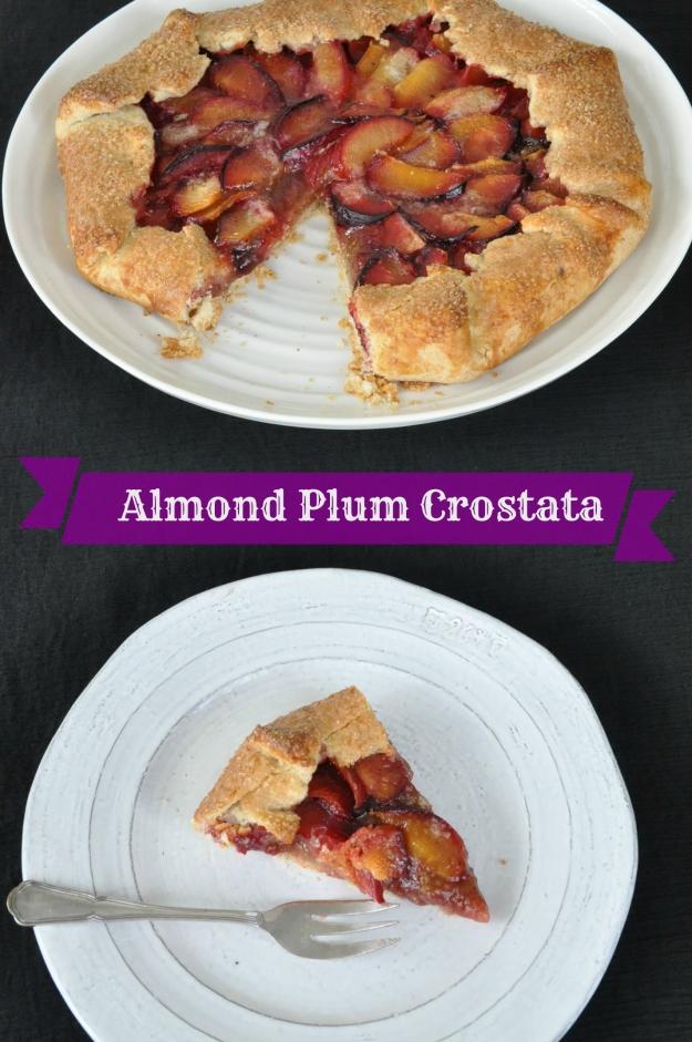 Almond Plum Crostata