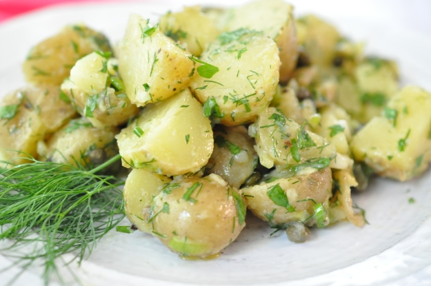 Potato Salad with Dill and Capers