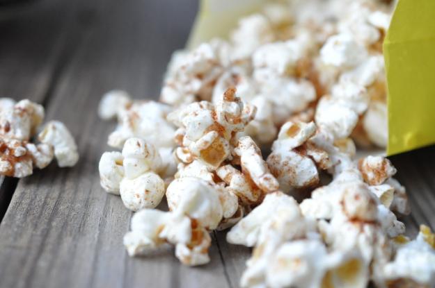 Salty & Sweet Cinnamon Popcorn