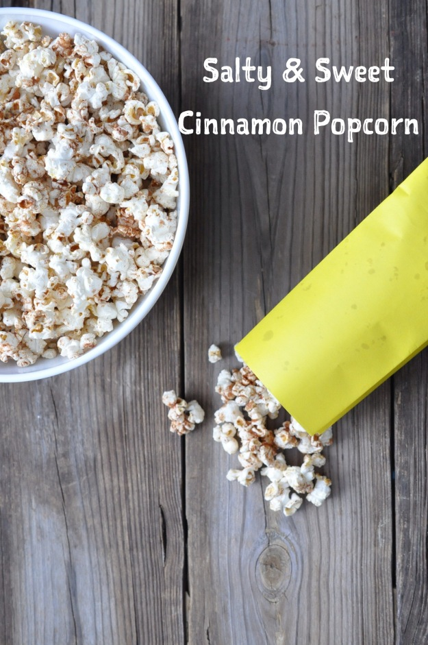 Salty & Sweet Cinnamon Popcorn