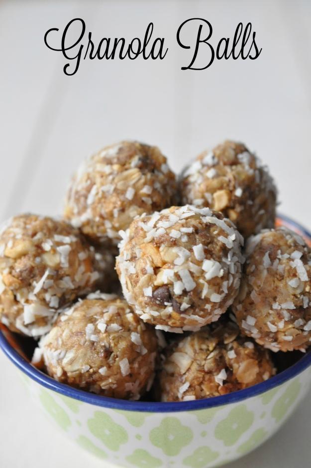 Granola Balls