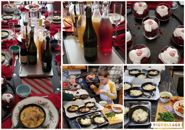ChristmasBrunchCollage